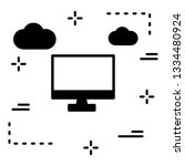 lcd vector icon