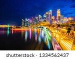 singapore  20 jan 2019  ... | Shutterstock . vector #1334562437