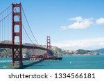 san francisco  california  usa  ... | Shutterstock . vector #1334566181