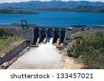 Aerial Image Of Wivenhoe Dam...