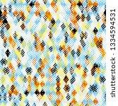 rhombus and herringbone pattern.... | Shutterstock .eps vector #1334594531