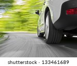 driving in the curve | Shutterstock . vector #133461689
