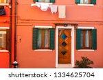 burano  venezia  italy. details ... | Shutterstock . vector #1334625704