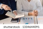 investment and cooperate... | Shutterstock . vector #1334644091