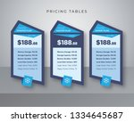 blue pricing table to promote...