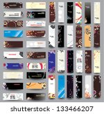 mix collection vertical and... | Shutterstock .eps vector #133466207