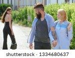 being a bit of a womaniser.... | Shutterstock . vector #1334680637