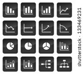 icons of various charts and...