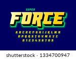 comics style font design ... | Shutterstock .eps vector #1334700947