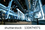 industrial zone  steel... | Shutterstock . vector #133474571