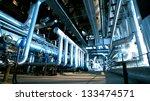 industrial zone  steel... | Shutterstock . vector #133474571