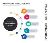 modern business infographic...   Shutterstock .eps vector #1334785961
