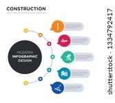 modern business infographic... | Shutterstock .eps vector #1334792417