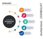 modern business infographic... | Shutterstock .eps vector #1334801147