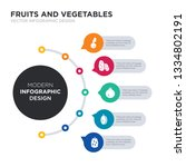 modern business infographic... | Shutterstock .eps vector #1334802191