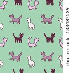 vector seamless pattern with... | Shutterstock .eps vector #133482539
