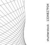 architecture building 3d... | Shutterstock .eps vector #1334827934