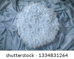 blue fur on crushed fabric... | Shutterstock . vector #1334831264