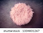 pink fur in a basket and... | Shutterstock . vector #1334831267