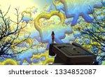 2d illustration composition....   Shutterstock . vector #1334852087