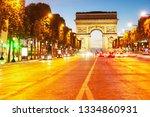 arc de triomphe  paris  france   Shutterstock . vector #1334860931