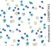 small floral seamless texture... | Shutterstock .eps vector #1334897441