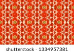 colorful seamless ornament for... | Shutterstock . vector #1334957381