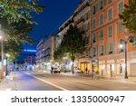 nice  oct 21  beautiful dusk...   Shutterstock . vector #1335000947