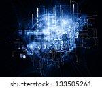 beyond geometry series.... | Shutterstock . vector #133505261