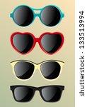 sunglasses | Shutterstock .eps vector #133513994