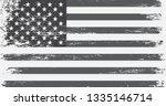 grunge american flag | Shutterstock .eps vector #1335146714