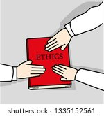 to comply with ethical codes | Shutterstock .eps vector #1335152561