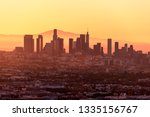 downtown los angeles skyline at ...   Shutterstock . vector #1335156767