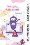 virtual assistant chat bot on...