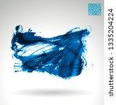 blue brush stroke and texture....   Shutterstock .eps vector #1335204224