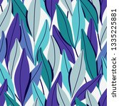 pattern with branches and... | Shutterstock .eps vector #1335225881