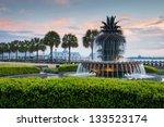Pineapple Fountain Charleston...