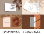 vector scene  stationery mock... | Shutterstock .eps vector #1335235661