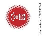 30 days money back sign. modern ...   Shutterstock .eps vector #1335247244