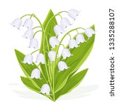 lily of the valley  spring... | Shutterstock .eps vector #1335288107