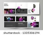 vector layout of square format... | Shutterstock .eps vector #1335306194