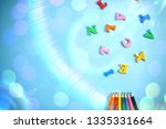 beautiful bright fun kids... | Shutterstock . vector #1335331664