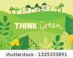 vector illustration eco... | Shutterstock .eps vector #1335353891