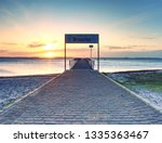 View Of Wooden Pier Or Dock In...