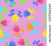 seamless composition of...   Shutterstock . vector #1335366164