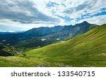 tatra mountain  poland  view to ... | Shutterstock . vector #133540715