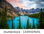 mountain river hd | Shutterstock . vector #1335429641