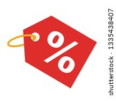 label percent icon. sale... | Shutterstock .eps vector #1335438407