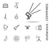 outdoor floodlight icon.... | Shutterstock .eps vector #1335494831