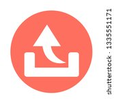 simple arrow sign icon | Shutterstock .eps vector #1335551171